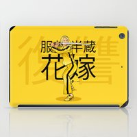 kill bill iPad Cases featuring THE BRIDE FROM KILL BILL by Akyanyme