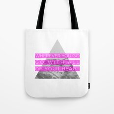 All of Your Heart Tote Bag