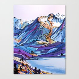 Alyeska Allure Canvas Print