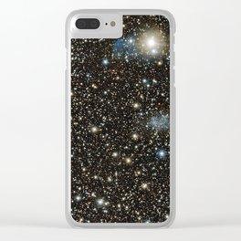 Sagittarius Dwarf Irregular Galaxy Clear iPhone Case