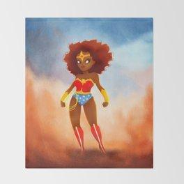 Wonderwoman Throw Blanket
