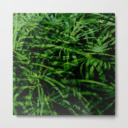Give Us Some Green Metal Print