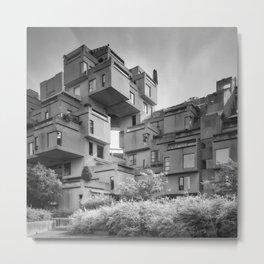 Habitat 67 07 - Mid Century Architecture Metal Print
