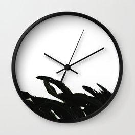 Black Raven Wall Clock