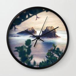 Sunset at Laguna Beach Wall Clock