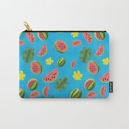 Summer Watermelon Pattern Carry-All Pouch