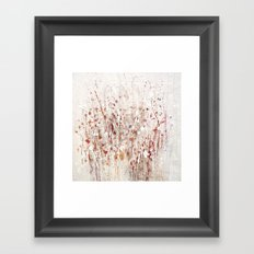 little rose Framed Art Print
