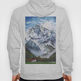 Jungfrau mountain. Swiss Alps Hoody