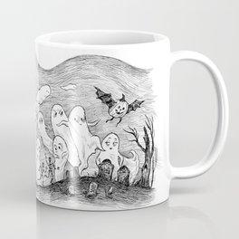 Halloween Ghosts Coffee Mug