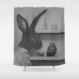 Not quite the black sheep of the family Shower Curtain