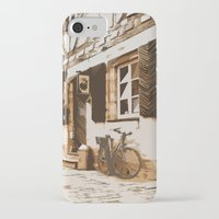 cycling iPhone & iPod Cases featuring Cycling by Karl-Heinz Lüpke