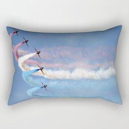 Soft pastels on a blue sky Rectangular Pillow