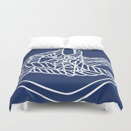 Knotical (NAVY) Duvet Cover