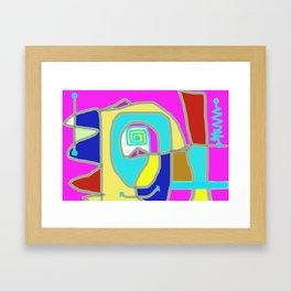 mechanical Framed Art Print