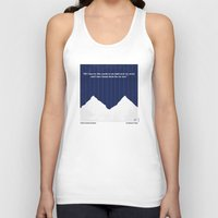 scarface Tank Tops featuring No158 My SCARFACE minimal movie poster by Chungkong