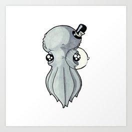 Squid Classic Art Print