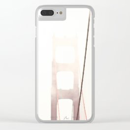 Summer in San Francisco Clear iPhone Case