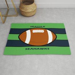 Seahawks Fans, Seattle Football Rug