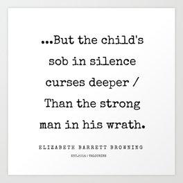 39    | 200210 | Elizabeth Barrett Browning Quotes Art Print