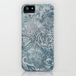 Fifth Mix Blue iPhone Case