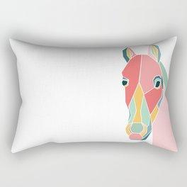 Graphic Horse Rectangular Pillow