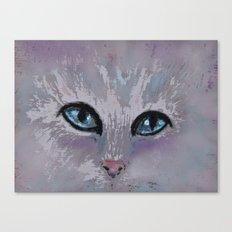 CAT EYES FOLLOW YOU Canvas Print