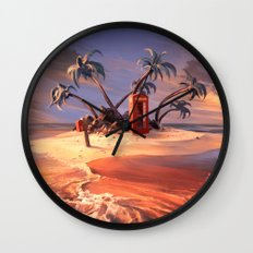 In the event of sinking Wall Clock