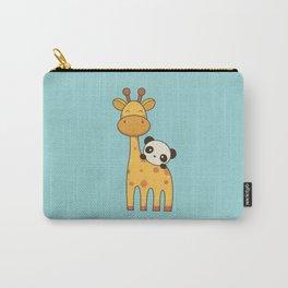 Cute and Kawaii Giraffe and Panda Carry-All Pouch