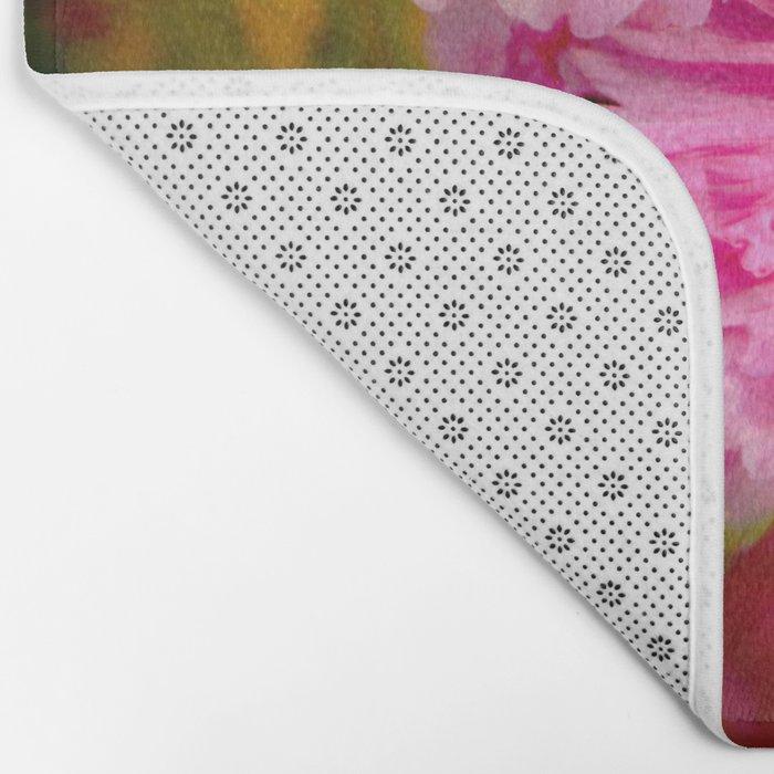 Pink Petals Bath Mat