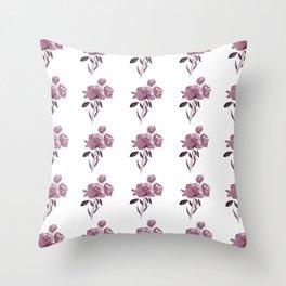 Floral Bouquet Throw Pillow