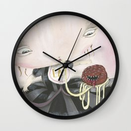 MEATBALL Wall Clock