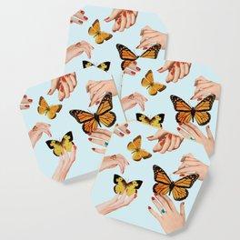 Social Butterflies Coaster