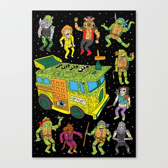 Heroes in a Half Hell Canvas Print