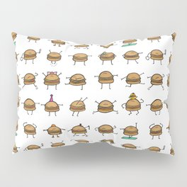 Hooray! Cheeseburgers! Pillow Sham