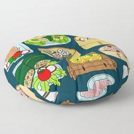 Dim Sum Lunch Floor Pillow
