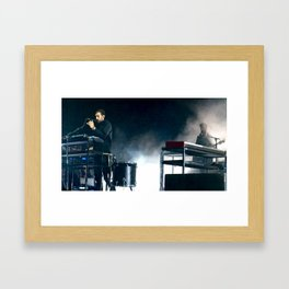 Kyle and Charlie Framed Art Print