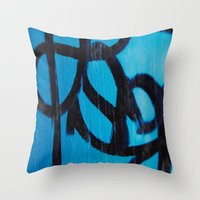 subway Throw Pillows featuring Subway by Lotus Effects