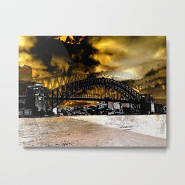 Sydney Harbour Bridge, Australia Metal Print