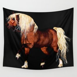 HORSE - Black Forest Wall Tapestry