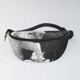 asc 257 - Le grand frère (The elder brother) - Night version Fanny Pack