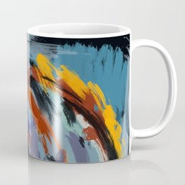 Woman and bird Coffee Mug