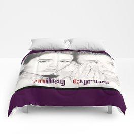miley vs. miley Comforters