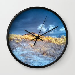 Mountain Path Wall Clock