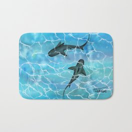 friendly waters Bath Mat