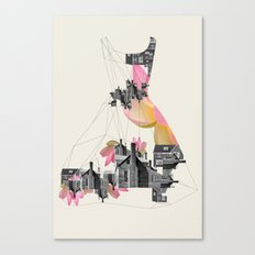 Filled with city Canvas Print