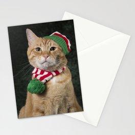 Loki in hat & scarf Stationery Cards