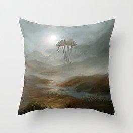 Lost - fanart Morrowind Throw Pillow