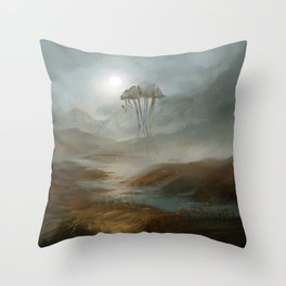 Lost - fanart Morrowind Throw Pillow