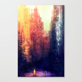 Beyond the Mind Wall Canvas Print