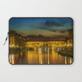 FLORENCE Ponte Vecchio at Sunset Laptop Sleeve